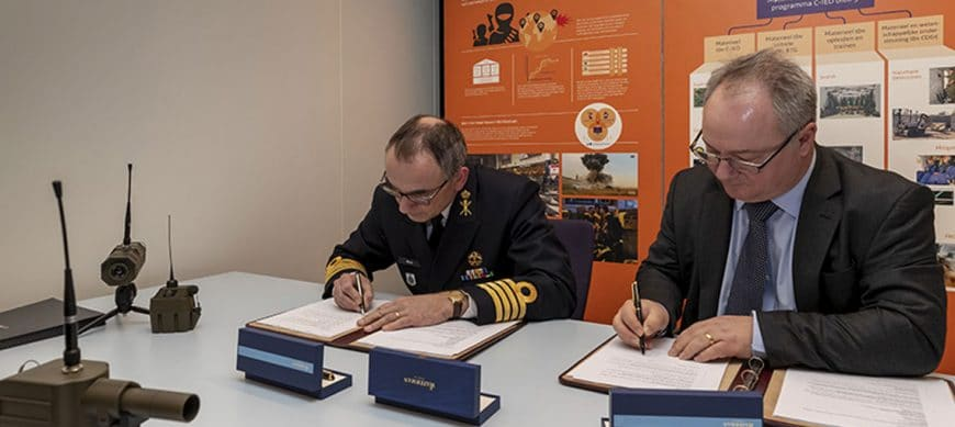 Signature of an 8-year framework agreement for the supply of Unmanned Unattended Ground Sensor (UUGS) systems